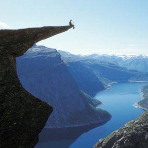 Alan Tek on the edge