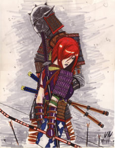 Samurai master apprentice c/o robohawk5